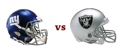 Giants vs Raiders: FULL TAILGATE